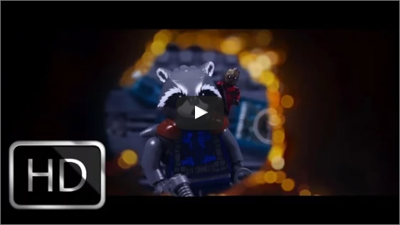 Guardians of the Galaxy 2 – trailer remade with lego