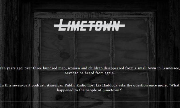 Limetown Podcast – Impressions so far
