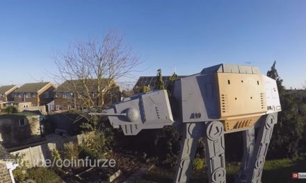 AT-ACT Garden Den – It's Fair to say Colin Furze does not lack ambition