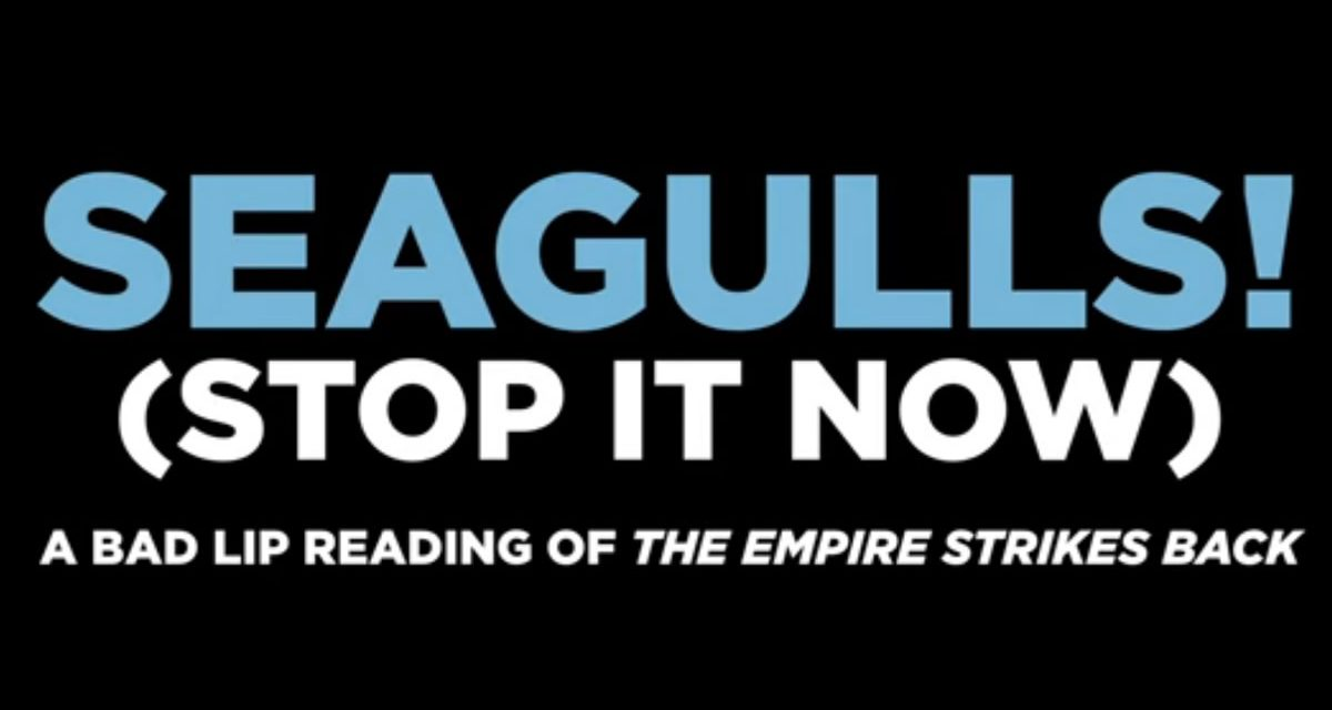 Bad Lip Reading – Yoda Hates Seagulls