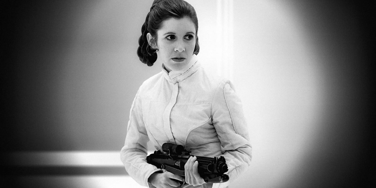 Carrie Fisher – Sadness for all Star Wars fans
