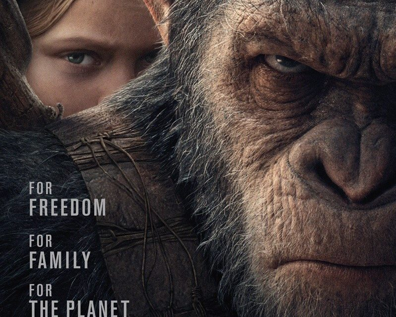 Caeser vs The Colonel – New War for the Planet of the Apes Trailer