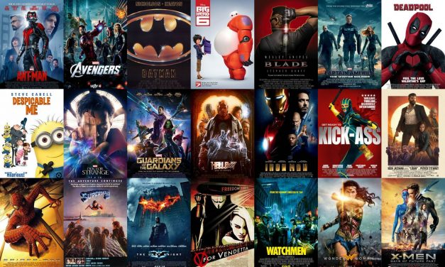 What are your favourite Superhero films? – Poll